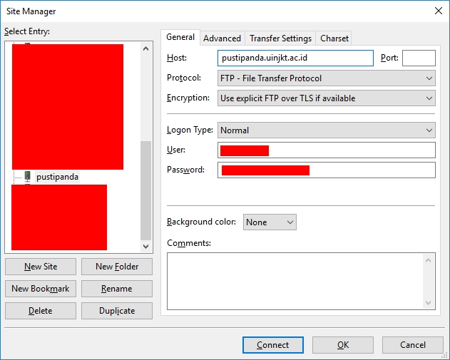 Backup Website (Seri 2): Backup File Website dengan FileZilla